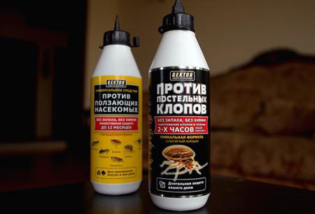 Hector insecticida de chinches y otros insectos.