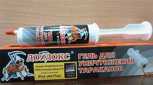 Dohlox Gel De Cucarachas