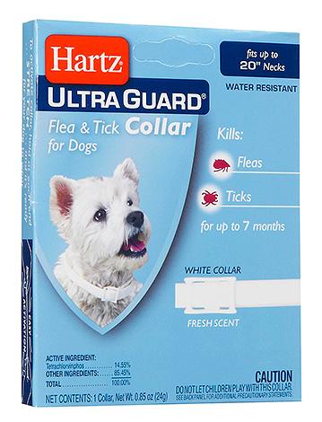 Hartz UltraGuard Flea & Tick Collar Flea Collar