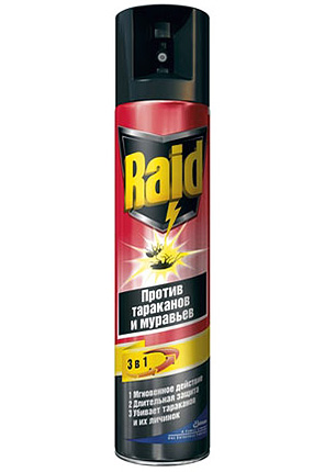 Spray repelente de insectos