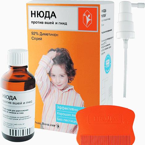 El remedio de Nuda no, de hecho, envenena los piojos, sino que bloquea sus vías respiratorias.