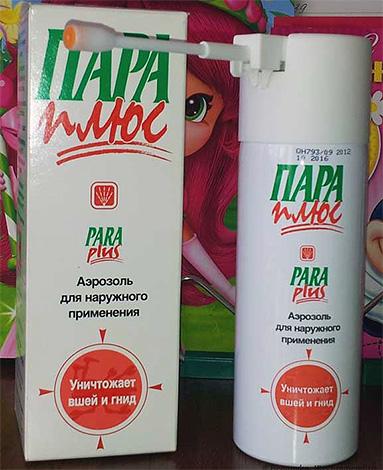Otro medicamento para eliminar los piojos en casa: un producto en aerosol Pair Plus
