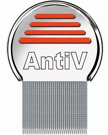El peine AntiV es bueno para eliminar los piojos en personas con cabello largo y grueso.