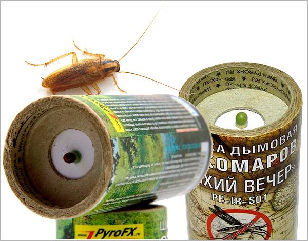 Descubrimos las características del uso de bombas de humo insecticidas en la lucha contra las cucarachas en un apartamento u otra habitación cerrada ...