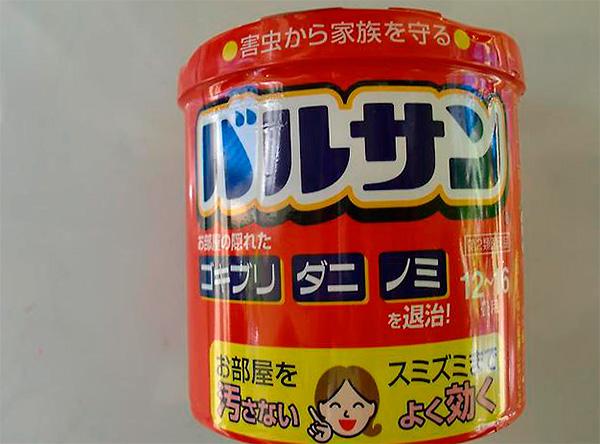 Bomba de humo de insecto japonés
