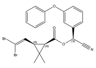 Deltametrina - fórmula química