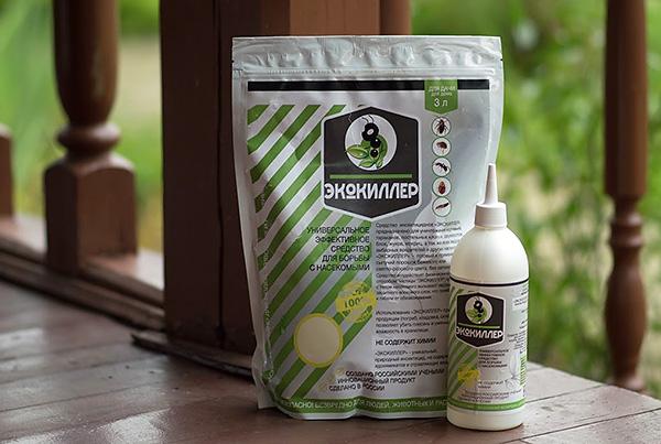 El polvo insecticida Ecokiller destruye con eficacia no solo las cucarachas, sino también muchas otras plagas y parásitos.