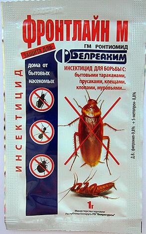 Front Line M: polvo para combatir cucarachas, hormigas domésticas, ácaros y chinches.