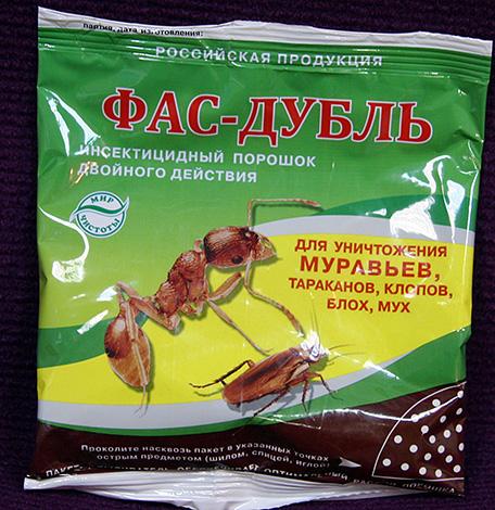 Repelente de insectos Fas-Doble